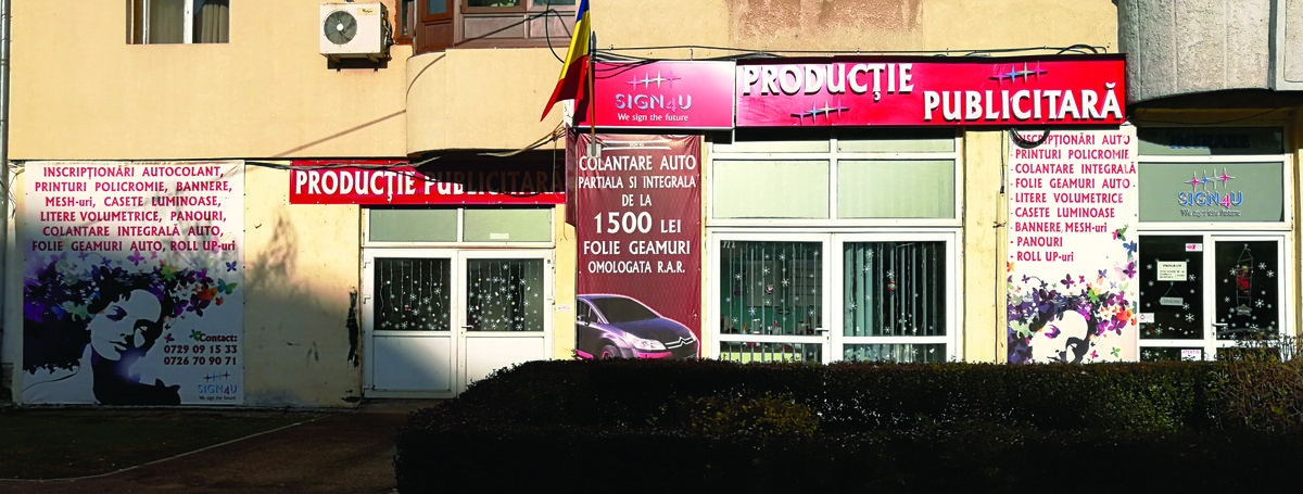 productie publicitara Targoviste